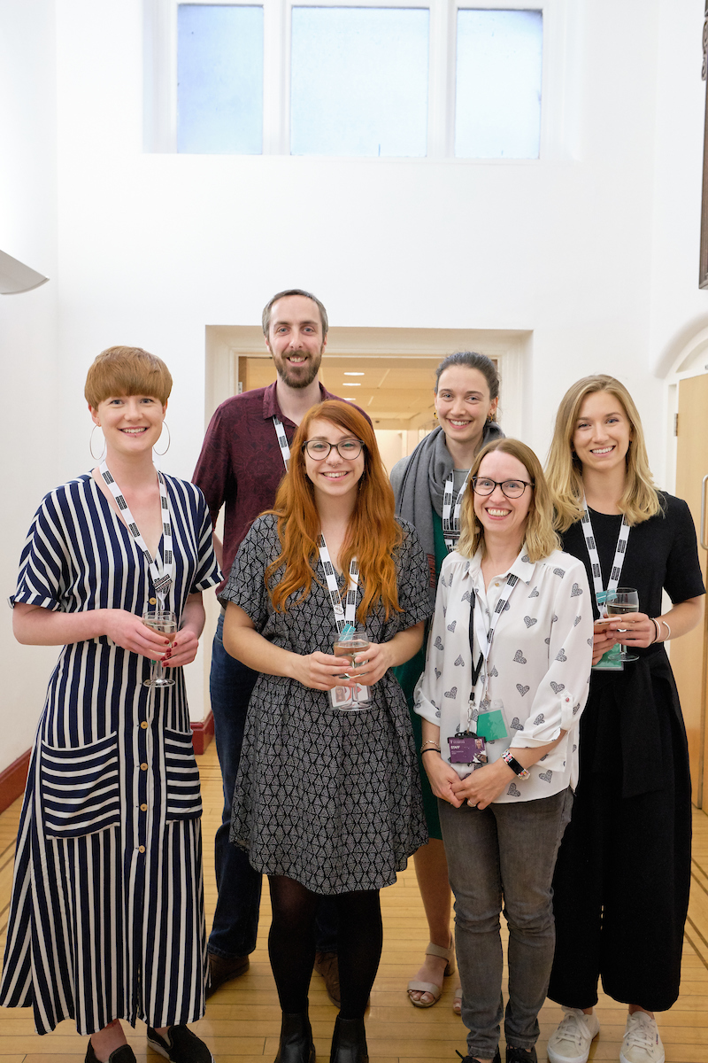 The Equality in Science symposium was organised by Gala Garrod, Katherine Gleave, Natalie Lissenden, Sophie Owen, Dr Kelly Johnson, Dr Greg Murray, and Dr Federica Guglielmo (not pictured)