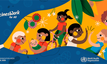 World Immunization Week 2020 banner