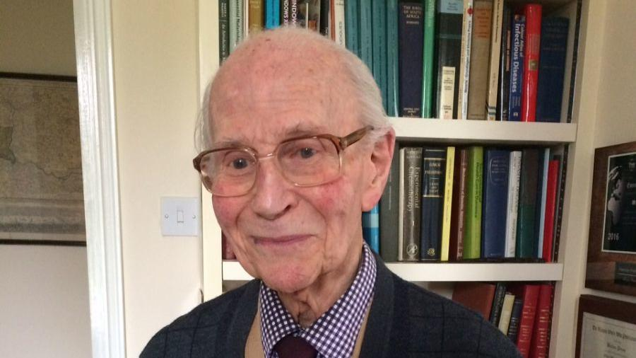 Professor Wallace Peters (Photo from RSTMH)