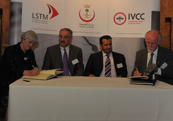 Janet Hemingway and Tom Mclean signing for LSTM
